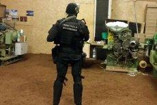 W uzasadnionych przypadkach Kontrola Skarbowa rzuca do boju uzbrojonych funkcjonariuszy.