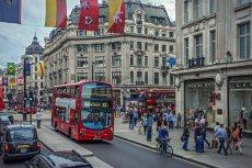Oxford Street to najstarsza handlowa ulica w Europie