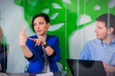 Agnieszka Osytek podczas warsztatów akceleracyjnych w Londynie