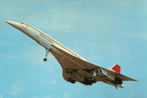 Concorde w powietrzu.