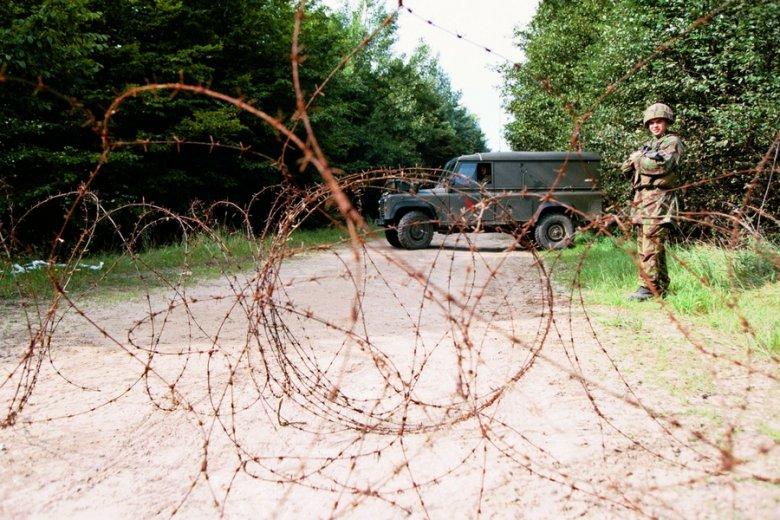 Drogi dojazdowe do poligonów nierzadko są w fatalnym stanie.