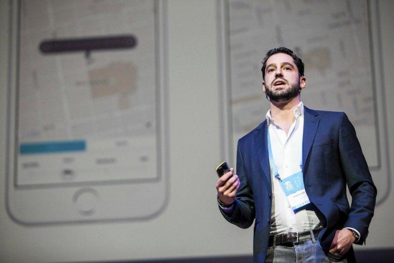 """Szef Ubera w Europie Centralnej Rob Khazzam. """"Własny Uber"""" marzy się wielu naśladowcom tej firmy."""