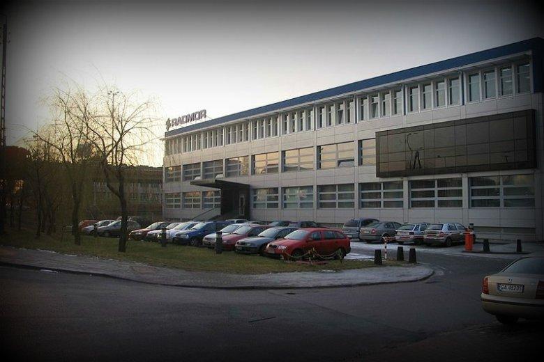 Siedziba firmy Radmor w Gdyni. Firma jest największym eksporterem branży militarnej w Polsce, współpracuje z 16 krajami z całego świata