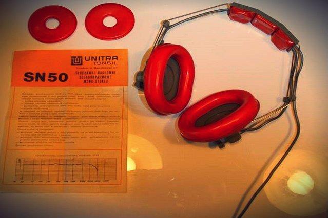 Oryginalny model słuchawek SN-50