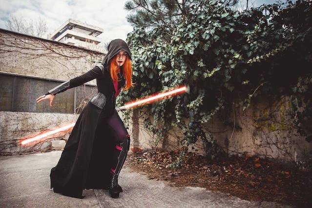 Kolejny cosplay inspirowany Gwiezdnymi Wojnami.