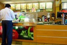 Restauracja sieci Subway w Toronto.