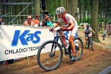 Maja Włoszczowska na rowerze firmy Kross.