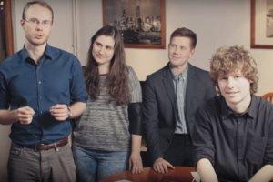 Członkowie zespołu HyperLodz, którzy zaprezentują projekt swojej kapsuły w USA.