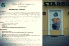Starbucks może znaleźć się w ogniu krytyki.
