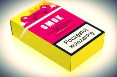 """Jeden z modeli papierosów """"SMOK""""."""