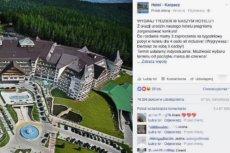 Opublikowany w ostatni weekend post informował o szansie na zdobycie 3 zaproszeń na tygodniowy pobyt w hotelu w Karpaczu