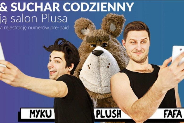 W najnowszej kampanii miśkowi towarzyszą youtuberzy z Suchara Codziennego.