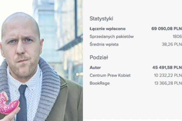 Michał Michalski ma powód do zadowolenia. Bookrage jest coraz popularniejszy.