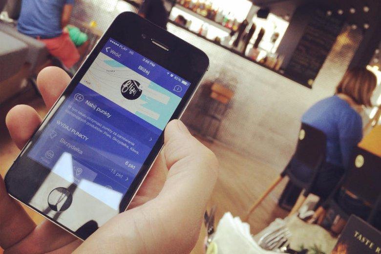 W Everytap punkty dostajesz m.in. za przychodzenie do lokalu i kupno konkretnych pozycji z menu.