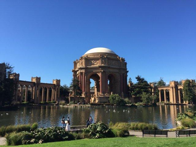 Palace of Fine Arts, San Francisco, tutaj odbyła się konferencja Tech Inclusion, 2016