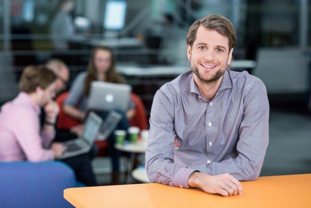 Sebastian Siemiątkowski, współzałożyciel firmy Klarna.