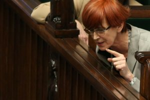 Minister pracy Elżbieta Rafalska.