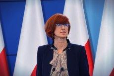 Minister Elżbieta Rafalska.