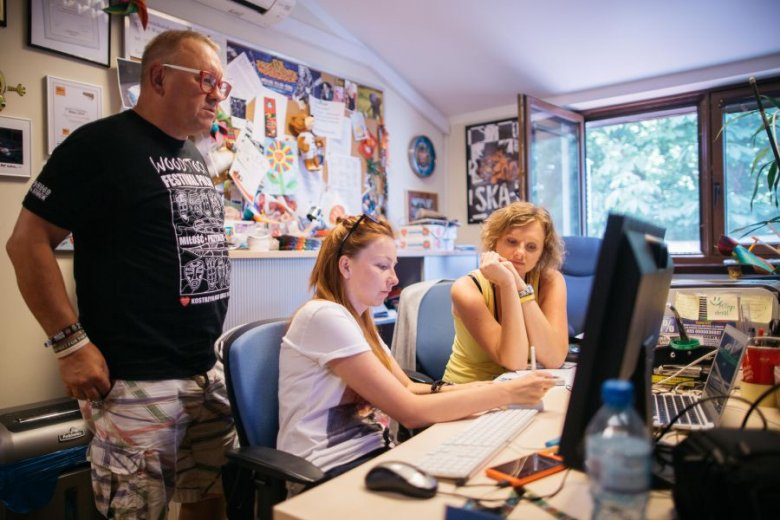 W Fundacji WOŚP pracuje 40 osób.