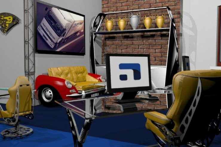 Projekt biura Porsche.