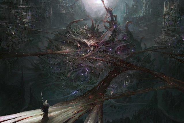 Grafika koncepcyjna z Torment: Tides of Numenera.
