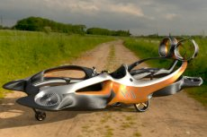 Hoverbike, innowacyjny pojazd, który, jeśli powstanie, ma być gratką dla fanów sportów ekstremalnych i pomocą dla służb medycznych.