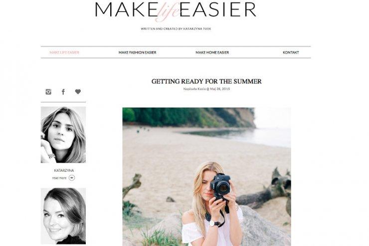 Jeden z najpopularniejszych blogów modowych prowadzonych przez Katarzynę Tusk.