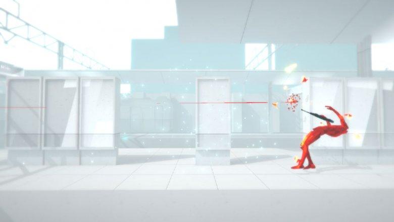 """Szata graficzna """"Superhot"""" stanowi duży plus gry."""