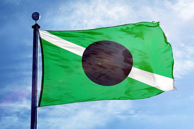 Flaga Kabuto.