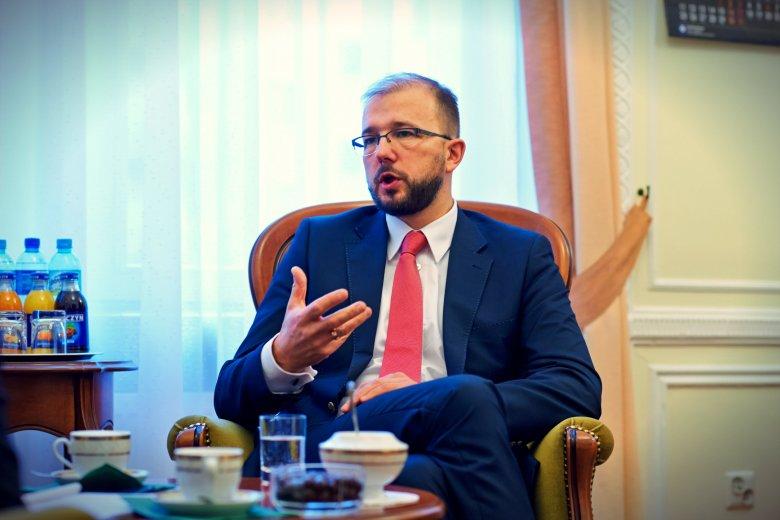 Piotr Dardziński: W uchwalaniu nowego prawa liczymy na dobry klimat, który wokół innowacji panuje także w parlamencie.