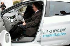 Elektryczne Renault, jakie Lublin dostał w charakterze nagrody w konkursie Eko Miasto.