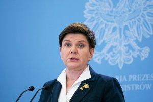Premier Beata Szydło.