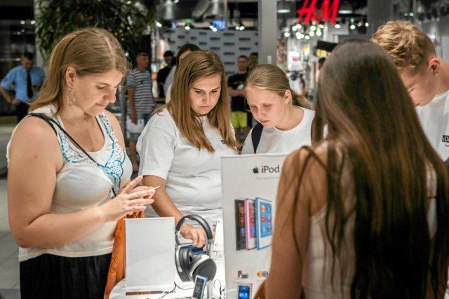 Salon firmy Apple w Bydgoszczy.