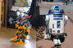 """Tegoroczna edycja Festiwalu Robotyki """"Robocomp"""" przyciągnie rzeszę konstruktorów robotów. W jednej z konkurencji przewidziano też naśladowanie postaci z popularnych filmów science-fiction"""