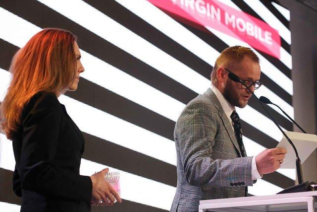 Natalia Załęcka na Gali wręczenia nagród w konkursie Innovation AD 2017