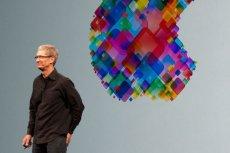 Tim Cook, szef Apple, ma powody do zadowolenia.