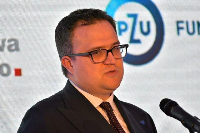 Michal Krupinski, jeszcze jako prezes PZU