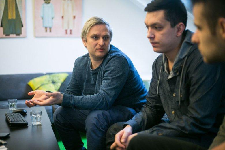 Wojciech Wawszczyk i Maks Sikora tłumaczyli, że rynek animacji komputerowej wciąż jest w Polsce bardzo młody.