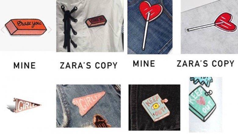 Artystka Tuesday Bassen stwierdziła, że Zara skopiowała jej pomysły