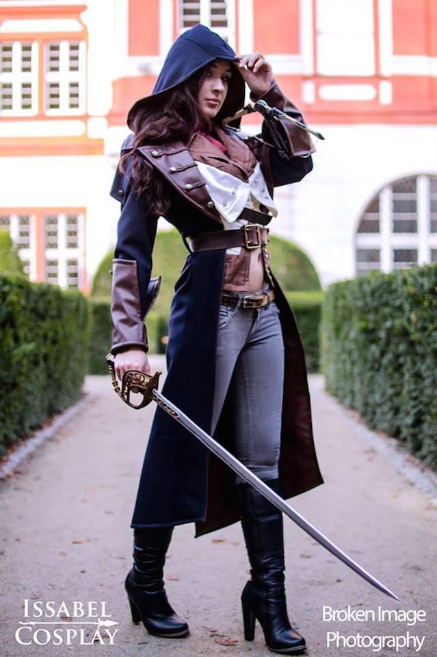 Cosplay dla Assassins Creed.