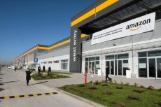 Centrum logistyczne Amazona w Bielanach Wrocławskich.