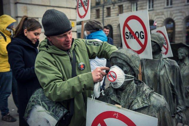 Protest wrocławskich aktywistów