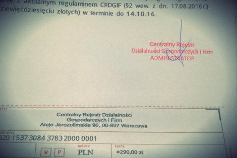 Takie pismo dostają nowi polscy przedsiębiorcy. Nie ma obowiązku na nie odpisywać.