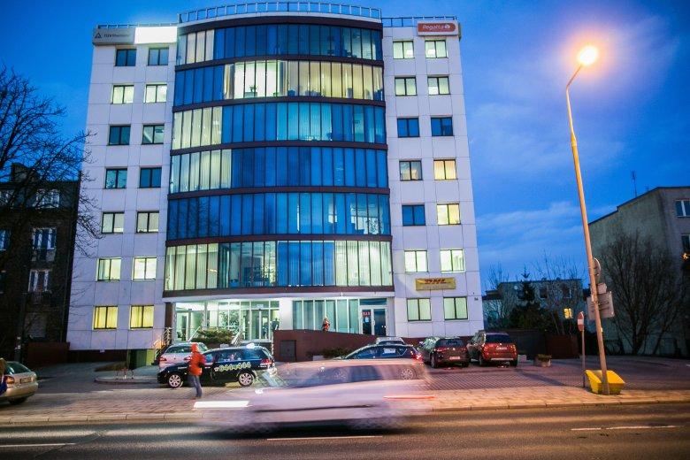 Biuro firmy Vivus na warszawskim Okęciu.