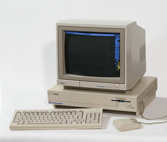 Amiga 1000 w 1989 roku była marzeniem