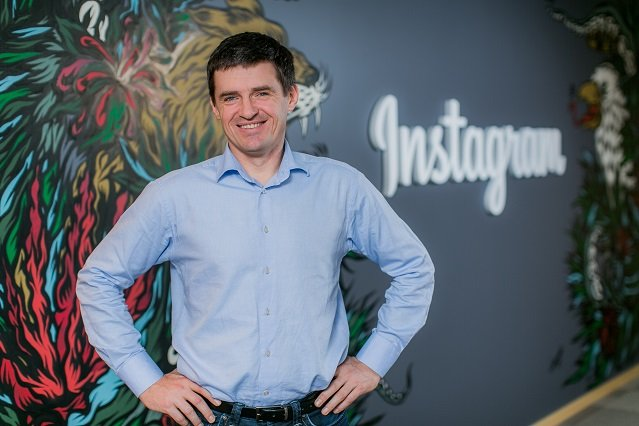 Robert Bednarski, dyrektor Facebooka na Europę Środkowo-Wschodnią.