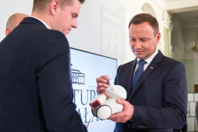 Marcin Joka, Photon i Prezydent RP Andrzej Duda