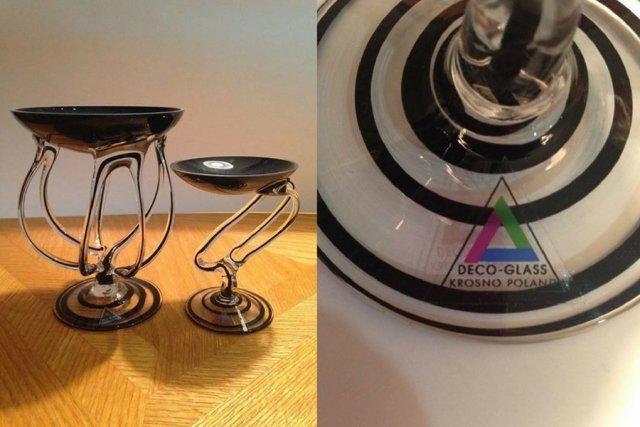 """Wyrafinowane produkty Deco Glass to spadek po dawnej krośnieńskiej """"Jedynce""""."""