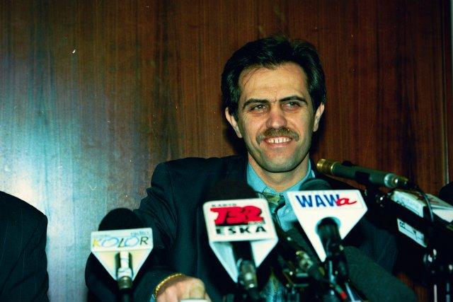 Zygmunt Solorz w 1994 roku