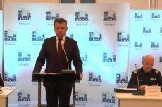 Mariusz Błaszczak, Minister Spraw Wewnętrznych i Administracji.